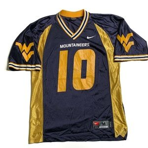Nike Shirts - Nike West Virginia Mountaineers Football Jersey
